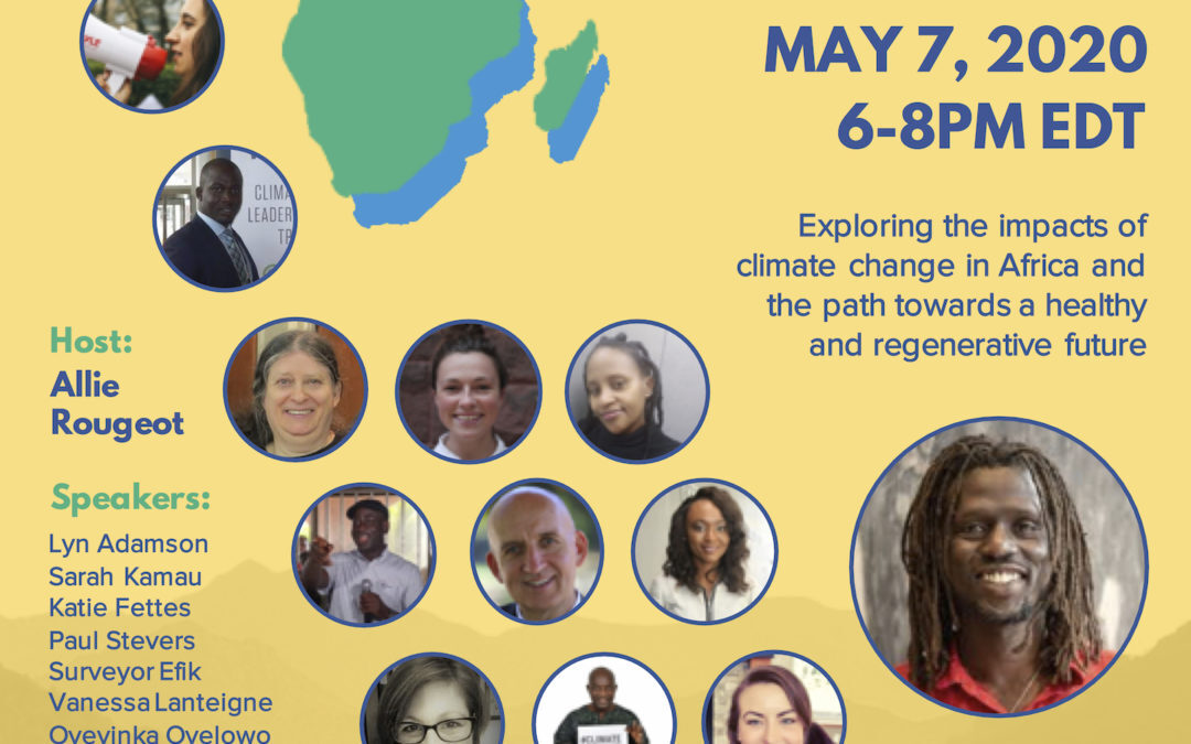 AFRICA CLIMATE ACTION INITIATIVE ONLINE LAUNCH